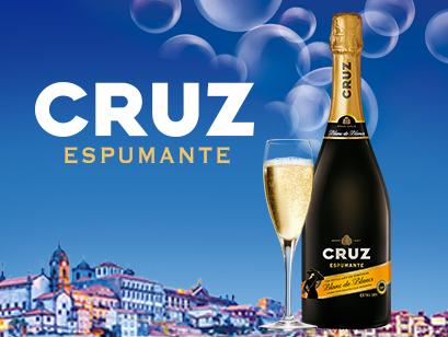 CRUZ fait pétiller votre été avec CRUZ Espumante !